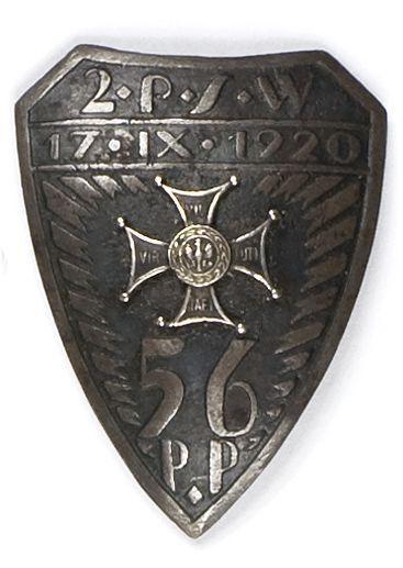 Odznaka pamiątkowa 56 pułku piechoty