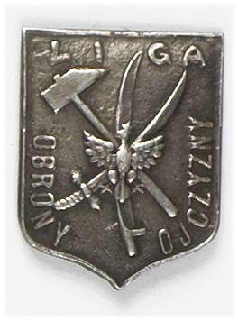 Odznaka organizacyjna Ligi Obrony Ojczyzny