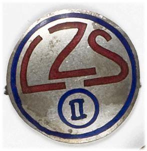 Odznaka pamiątkowa Ludowych Zespołów Sportowych okręg II Lwów