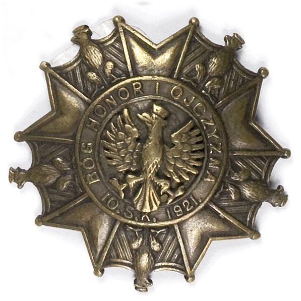 Odznaka pamiątkowa 10 pułku strzelców konnych