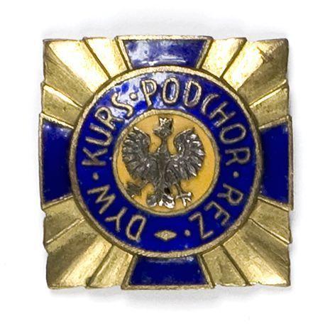 Odznaka pamiątkowa Dywizyjnego Kursu Podchorążych Rezerwy Piechoty