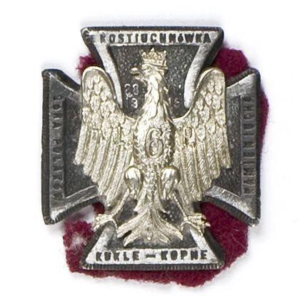 Odznaka pamiątkowa 6 pułku piechoty