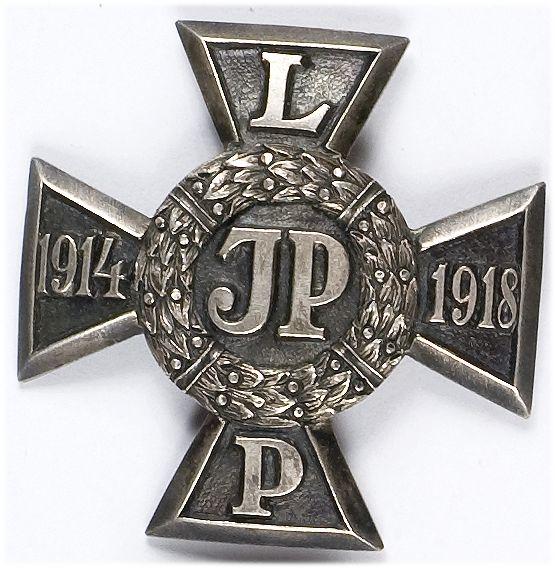 """Odznaka """"Krzyż Legionowy"""", odznaka organizacyjna Związku Legionistów"""