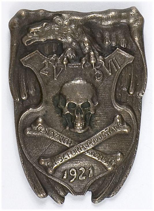 Odznaka pamiątkowa Grupy Szturmowej Wawelberga