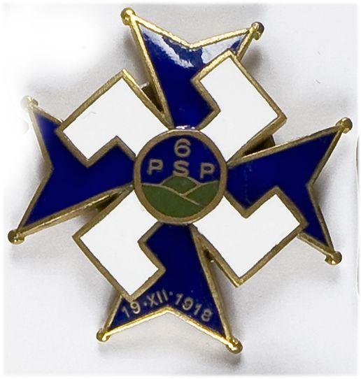 Odznaka pamiątkowa 6 Pułk Strzelców Podhalańskich