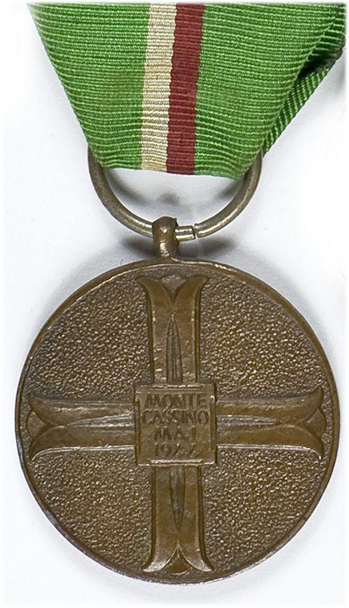 Medal pamiątkowy Bitwy pod Monte Cassino 1944-1969