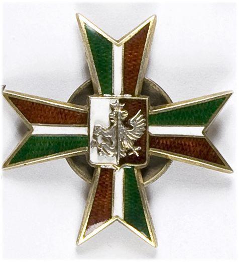 Odznaka pamiątkowa 4 Pułku Strzelców Konnych Ziemi Łęczyckiej