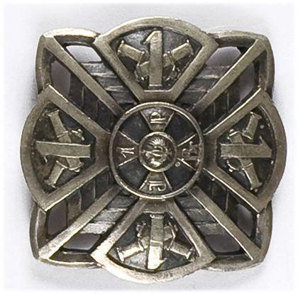 Odznaka pamiątkowa 1 Pułku Artylerii Polowej Legionów