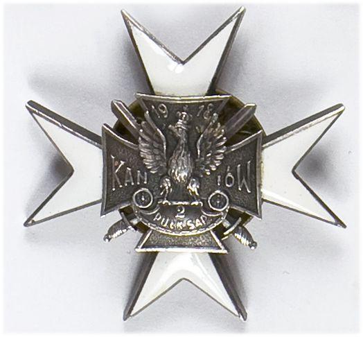 Odznaka pamiątkowa 2 Pułku Batalionu Saperów Kaniowskich