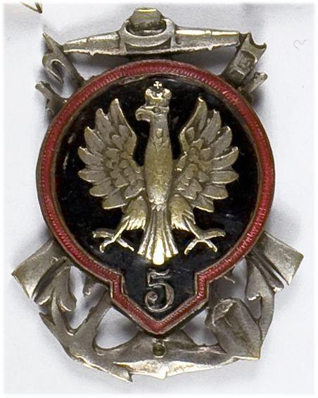 Odznaka pamiątkowa 5 Pułku/Batalionu Saperów