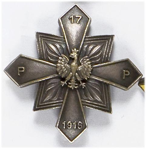 Odznaka pamiątkowa 17 pułk piechoty