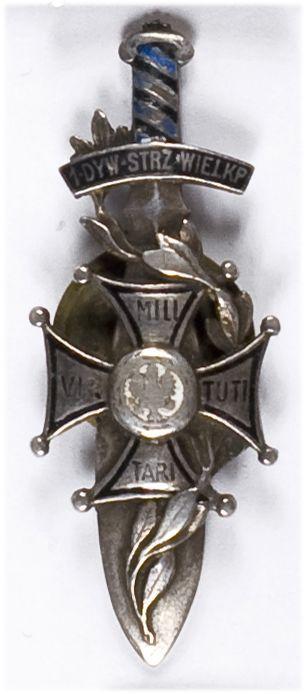 Odznaka pamiątkowa 14 Dywizja Piechoty Poznań