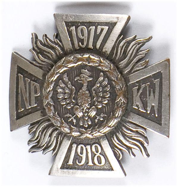 Odznaka pamiątkowa Naczelnego Polskiego Komitetu Wojskowego 1917-1918