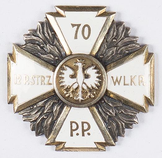 Odznaka pamiątkowa 70 Pułku Piechoty
