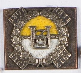 Miniatura odznaki Pułku 3 Ułanów Śląskich