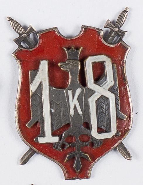 Odznaka pamiątkowa 18-tej Dywizji Piechoty