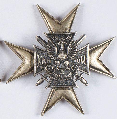 Odznaka pamiątkowa 2 Pułk (Batalion) Saperów Kaniowskich