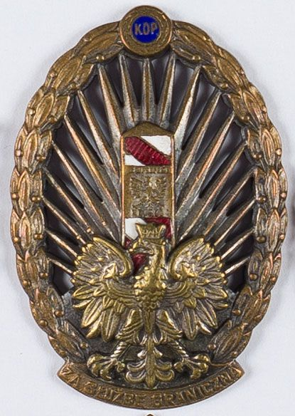 Odznaka Korpusu Ochrony Pogranicza (KOP)
