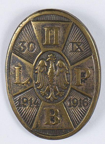 Odznaka pamiątkowa II Brygady Legionów