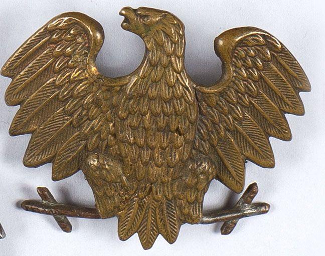 Zestaw 2 orzełków Dywizji Kościuszkowskiej