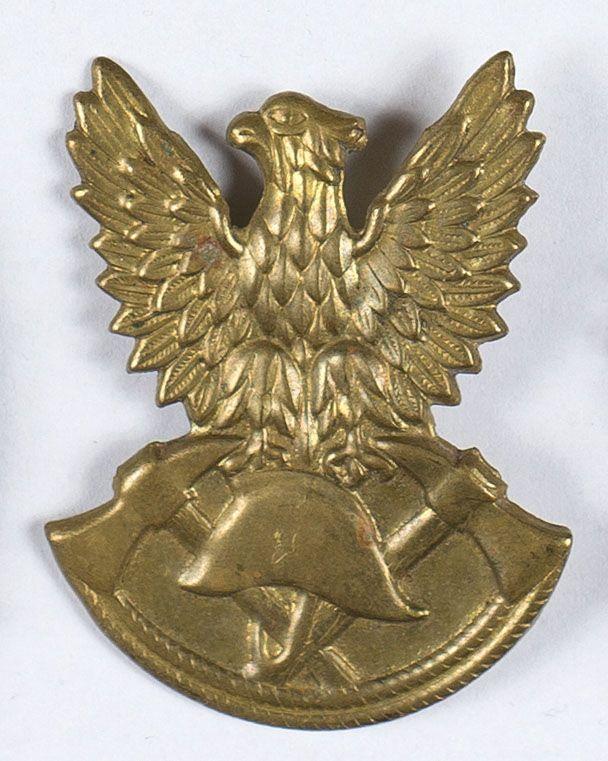 Zestaw 15 sztuk orłów Straży Pożarnej