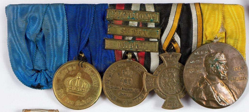 Szpanga orderowa pruska na pięć odznaczeń
