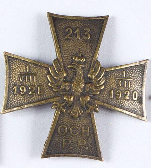 Odznaka pamiątkowa 213 Pułku Piechoty