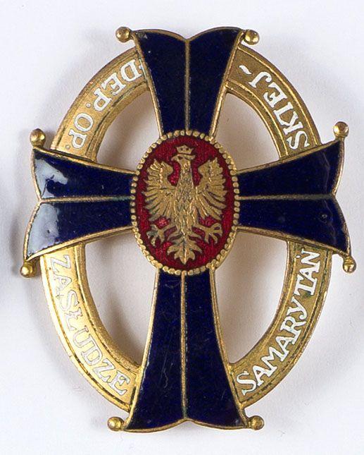 Odznaka NKN Zasłudze Samarytańskiej
