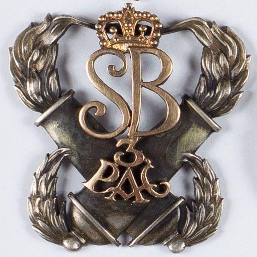 Odznaka pamiątkowa 3 Pułk Artylerii Ciężkiej