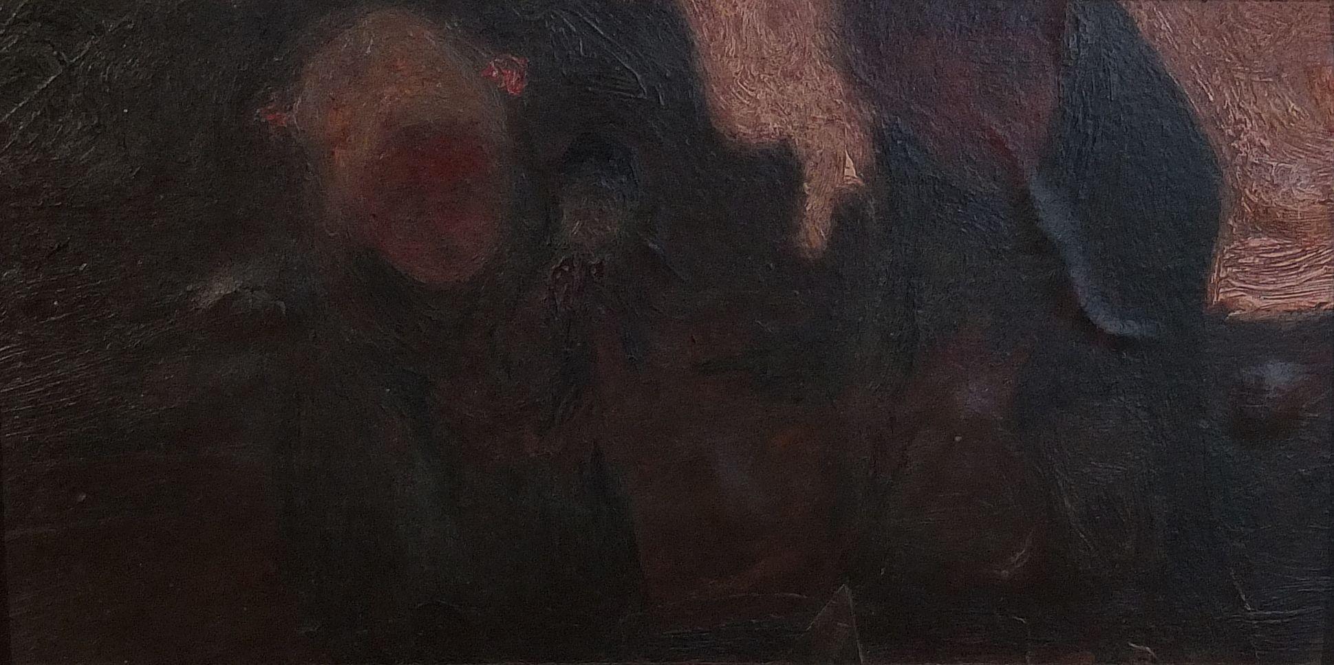 Dwoje dzieci z lalką, ok. 1900