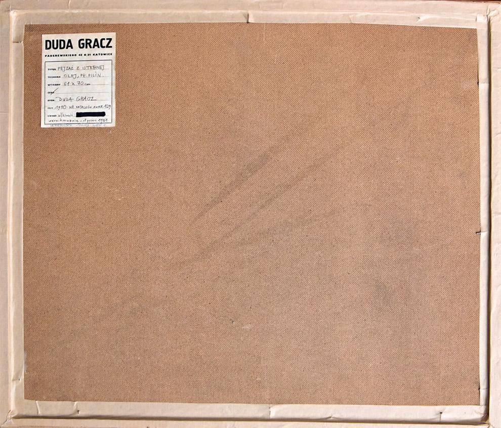 """""""Pejzaż z Istebnej"""", 1980"""