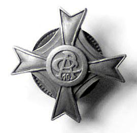 Odznaka pamiątkowa 10 pułku artylerii ciężkiej