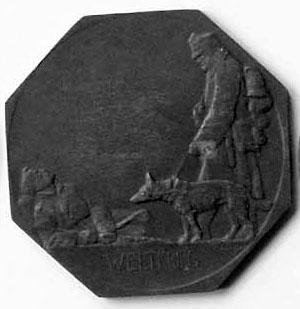 KURS DLA OPIEKUNÓW PSÓW POMOCNYCH WOJSKOWO I SANITARNIE, Wiedeń 1916