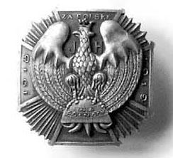 """Odznaka Związku Murmańczyków """"Krzyż Północy"""""""