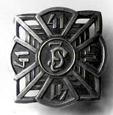 Odznaka pamiątkowa 41 pułku piechoty II wersja