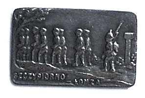 """Odznaka pamiątkowa internowanych """"Szczypiorno-Łomża"""""""