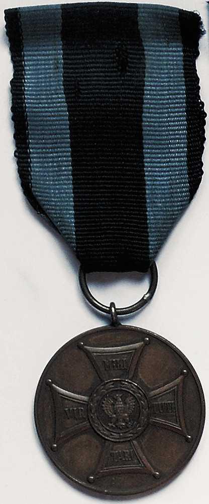 """Brązowy medal """"Zasłużony na polu chwały 1944"""""""