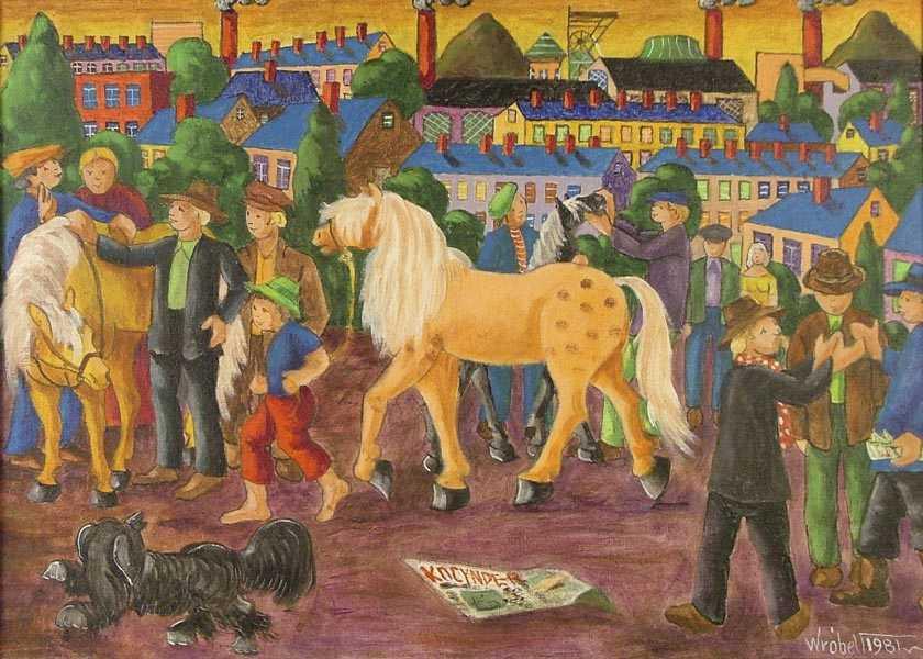 """""""Targ koński"""", 1981"""
