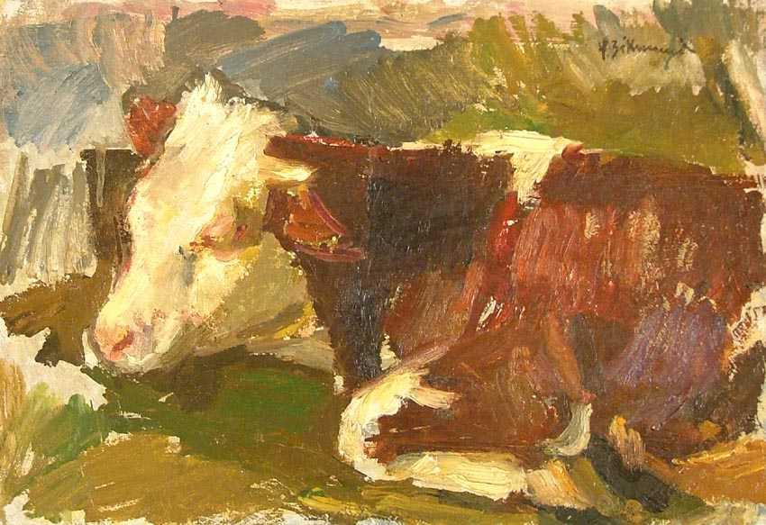 """Studium byczka"", 1948"