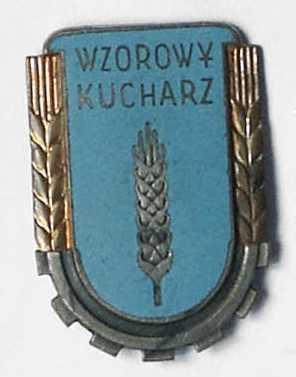 """Odznaka pamiątkowa """"Wzorowy kucharz"""" wz.1953"""