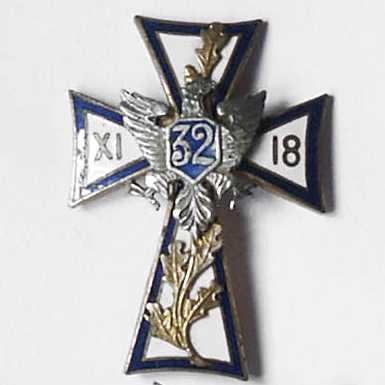 Odznaka pamiątkowa 32 pułku piechoty