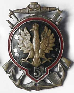 Odznaka pamiątkowa 5 batalionu saperów