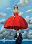 Rafał OLBIŃSKI Red umbrella