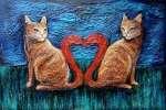 Krystyna PALCZEWSKA Kocie Walentynki