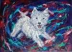Krystyna PALCZEWSKA Happy terrier