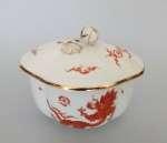 Porcelanowe puzdro z pokrywą Miśnia