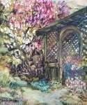 Helena GOLDA-BŁAHUT Ogród w Tychach