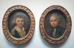 Para portretów dziecięcych, II poł XVIII