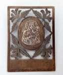 Plakieta z wizerunkiem Matki Boskiej Częstochowskiej
