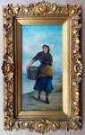 Artysta  NIEZNANY Kobieta z koszem ryb